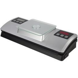 Nesco Vacuum Sealer w/Digital Scale - Black/Stainless Steel