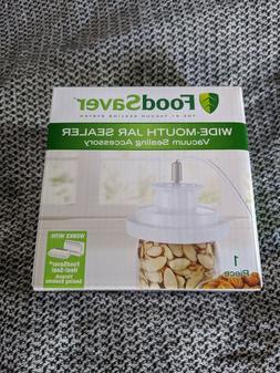 FoodSaver Wide-Mouth Vacuum Jar Sealer Fits Ball & Kerr