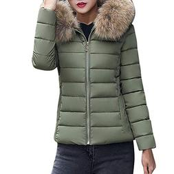 HGWXX7 Women's Fashion Solid Casual Faux Fur Collar Thicker