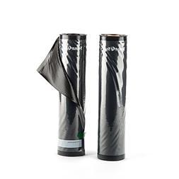 11in x 19.5 Clear & Black Vacuum Sealer Rolls SNS100 Food St
