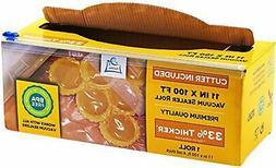 "11"" x 100' Mega Roll & Cutter Box Vacuum Sealer Bags Roll  4"