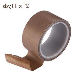 "2"" x 11yds PTFE Adhesive Tape PTFE Coated Fabric Teflon Tape"