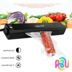 Ymiko Automatic Food Saver Portable Compact Vacuum Sealer Ma